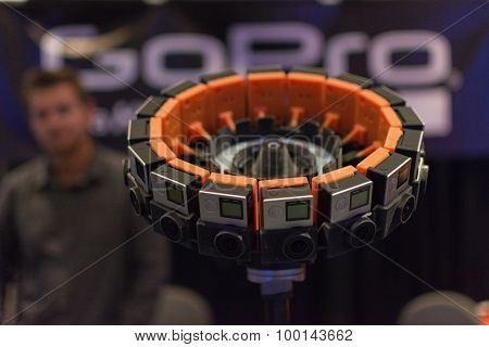 360-degree Virtual Reality Camera System