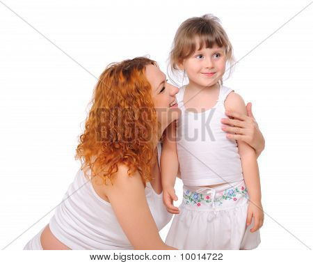 junge rothaarige schwanger Mutter