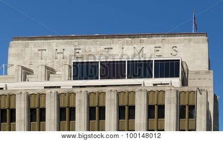 Los Angeles Times Building.