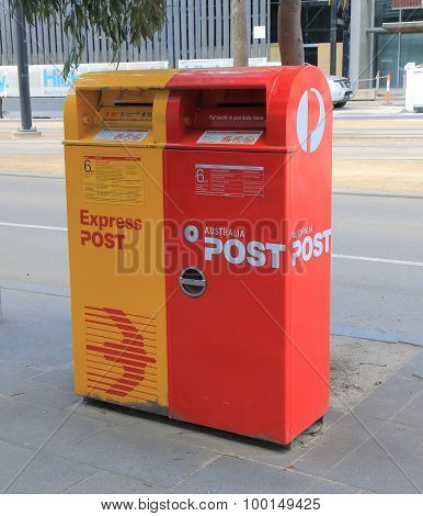 Australia post mail box