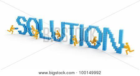 Teamwork solution concept
