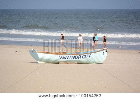 Ventnor Lifeguard Boat