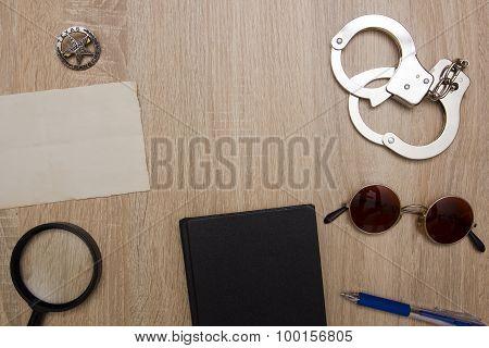 Desk Officer For The Police