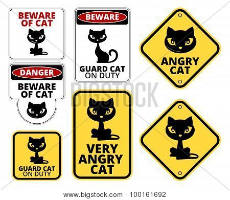 Danger cat