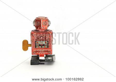 Old Wind Up Robot
