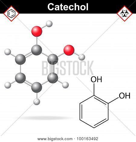 Catechol Molecule