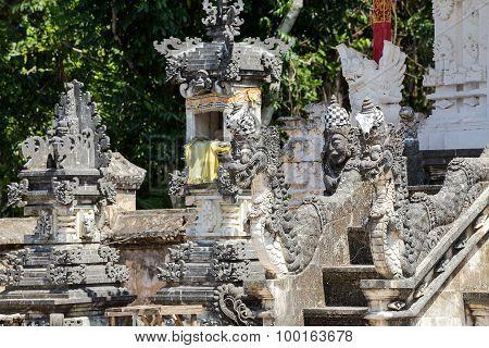 Hindu Temple At Pura Sahab, Nusa Penida, Bali, Indonesia