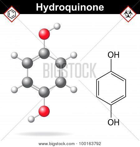 Hydroquinone Chemical Formula