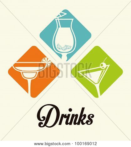 Drinks digital design.