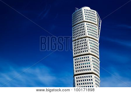 Beautiful Malmo Turning Torso, Distinctive City Landmark