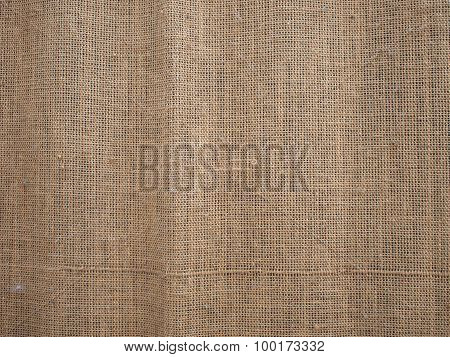 Canvas Of Burlap Texture