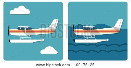 Small Amphibian Plane