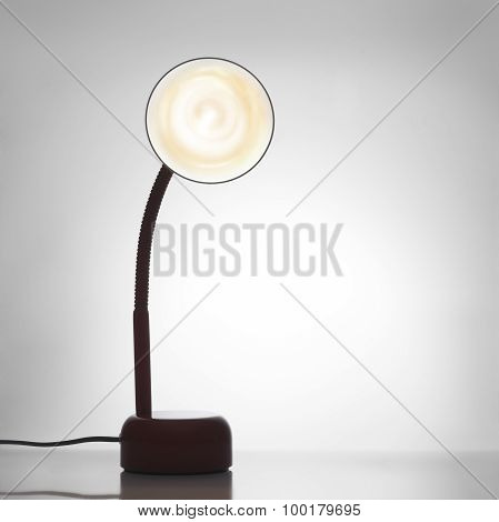 Desk Lamp turned on