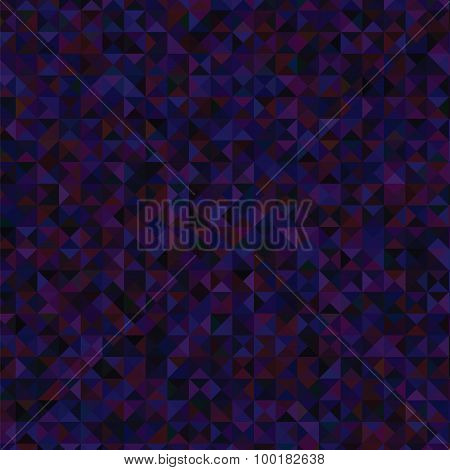 Dark Blue Polygonal Background.