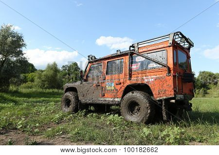 Four-wheel Drive On A Glade