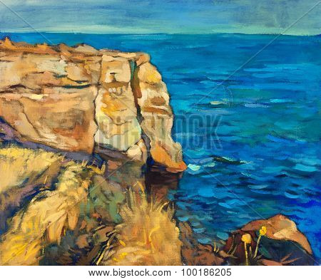 Ocean And Cliffs