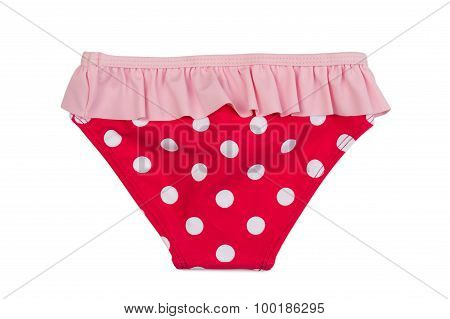 Red Panties With Polka Dots