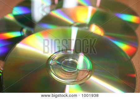 Cds Laid Out