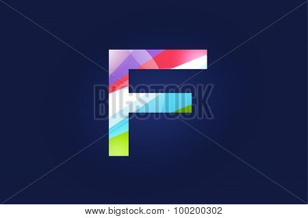 F letter vector logo icon symbol