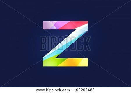 Z letter vector. Z logo icon template. Z symbol silhouette. Z isolated icon, Z line style letter, Z logotype, Z logotype, Z modern symbol, Z company name brand.