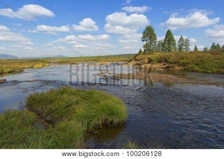 Landscape In South Yakutia