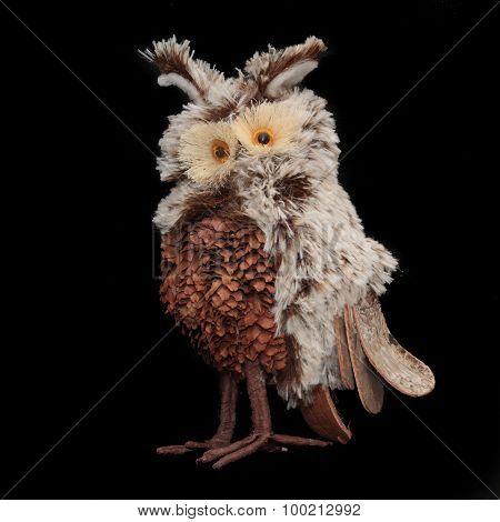 Hand-made owl
