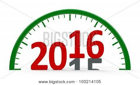 Clock Dial 2016, Half