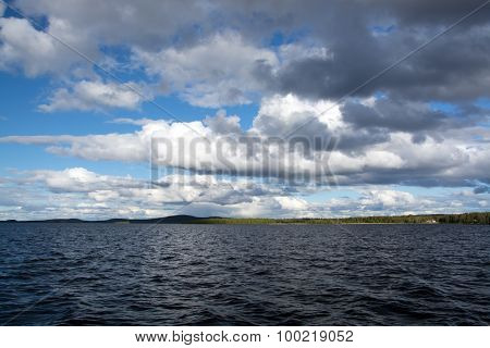 Inarisee, Lappland, Finnland