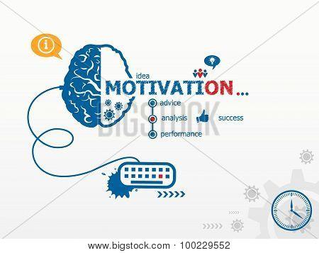 Motivation Design Illustration Concepts For Business