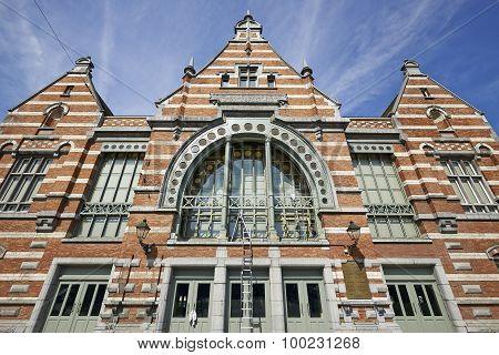 The Schaerbeek Railway Station