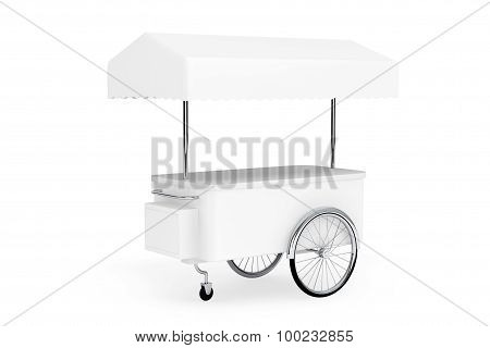 Blank Promotion Cart And Canopy