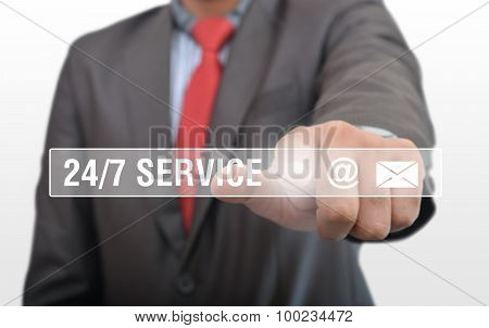 24/7 Service Buttons