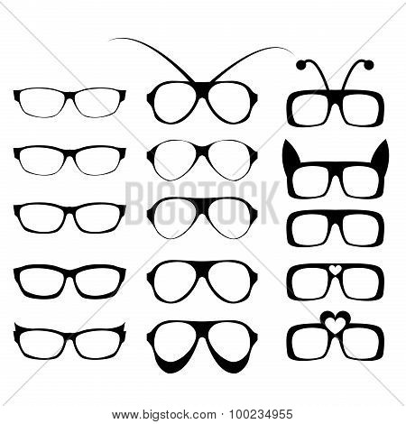 Set Of Glasses Frame In Fancy Style