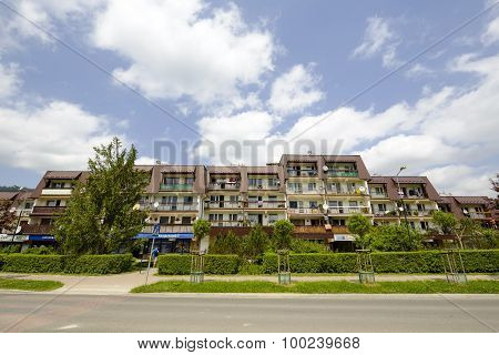 Housing Estate In Zakopane In Poland