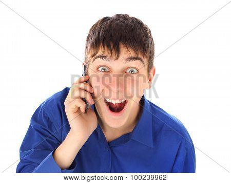 Surprised Teenager