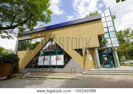 The Brick Building In Zakopane, Poland