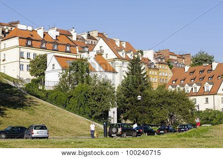 Warsaw's Old Town Houses
