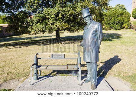 William Heerlein Lindley Monument In Warsaw