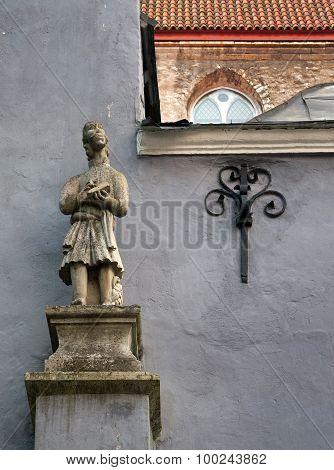 sculpture in Old Tallinn