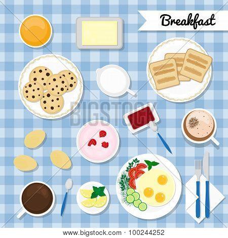 Breakfast Concept.