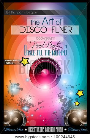 Club Disco Flyer Set with  Music themed backgrounds. A lot of diffente style flyer for your techno, hip hop, electro or metal  music event Posters and advertising printed material.
