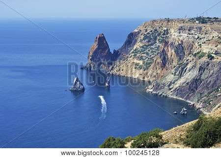 Cape Fiolent, Herakleian Peninsula Of Crimea