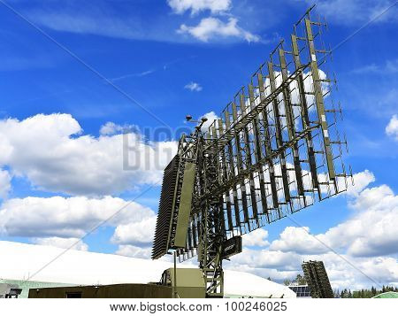 Mobile Radar Station Or Airspace Control