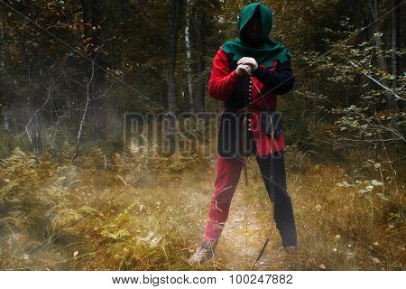 Medieval Robber Archer