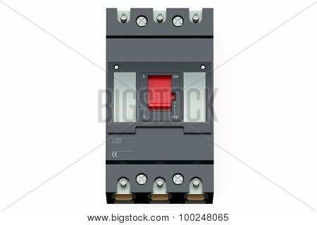 Black Automatic Circuit Breaker