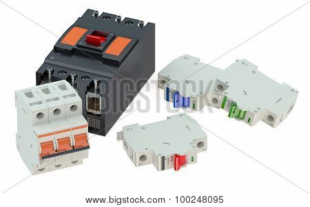 Set Of Automaticcircuit Breakers