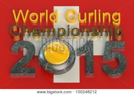 World Curling Championship 2015 Switzerland Concept