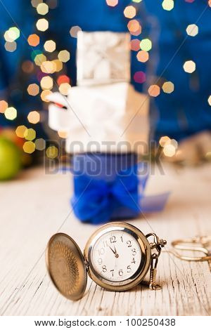 New Year Pocket Watch