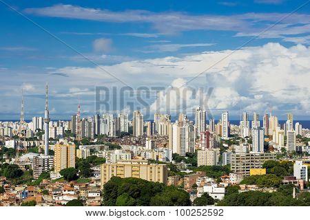 Salvador Cityscape, Bahia, Brazil
