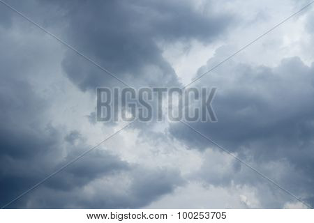 Thunderclouds Over Horizon.